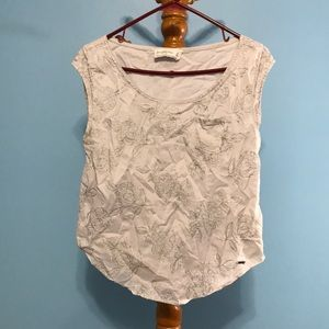 Abercrombie and Fitch Blouse Tank. WILL BE IRONED.